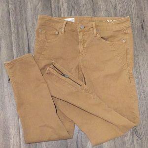 Gap 1969 always skinny jeans w zip up ankles